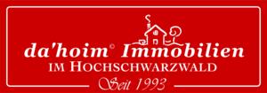 Logo von da'hoim © Immobilien im Hochschwarzwald